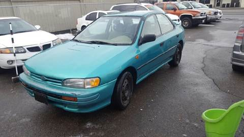 1996 Subaru Impreza for sale at TTT Auto Sales in Spokane WA