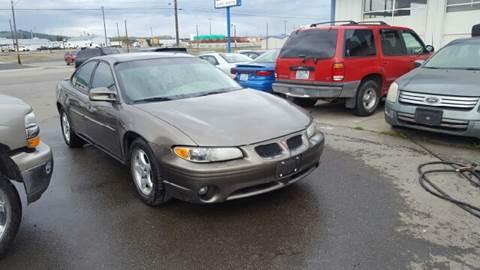 2001 Pontiac Grand Prix for sale at TTT Auto Sales in Spokane WA