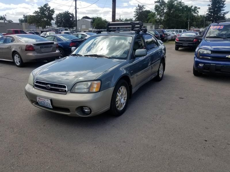 2002 Subaru Outback Awd H6 30 4dr Sedan In Spokane Wa Ttt Auto Sales