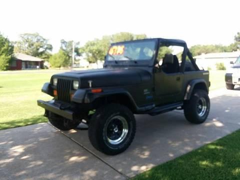 1989 Jeep Wrangler for sale in Lubbock, TX