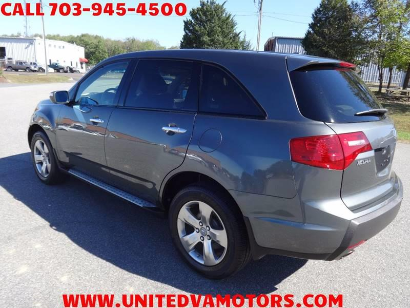 Acura Mdx SHAWD Dr SUV WSport Package In Fredericksburg VA - 2007 acura mdx sport shocks