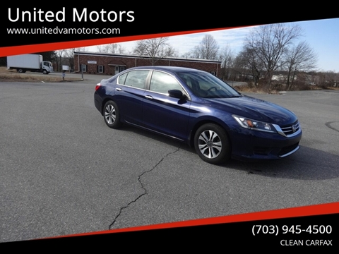ed495458ea United Motors – Car Dealer in Fredericksburg