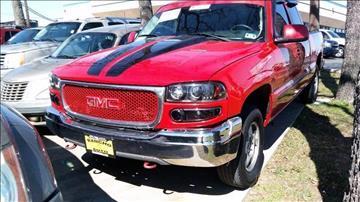 2001 GMC Sierra 1500 for sale in Irving, TX