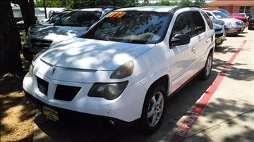2003 Pontiac Aztek for sale in Irving, TX
