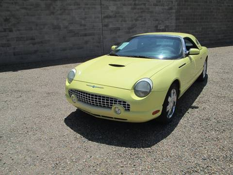 2002 Ford Thunderbird for sale at Stagner INC in Lamar CO