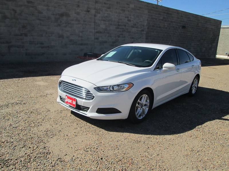 2016 Ford Fusion for sale at Stagner INC in Lamar CO