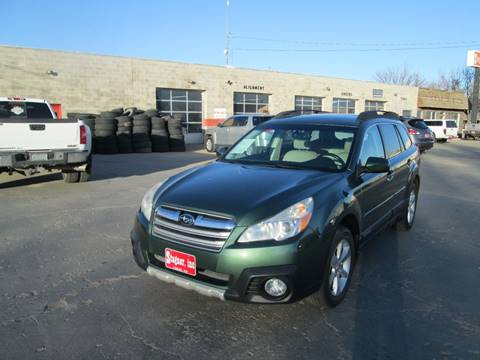 2013 Subaru Outback for sale at Stagner INC in Lamar CO