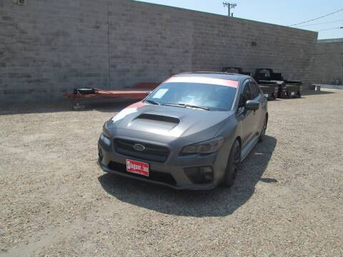 2016 Subaru WRX for sale at Stagner INC in Lamar CO