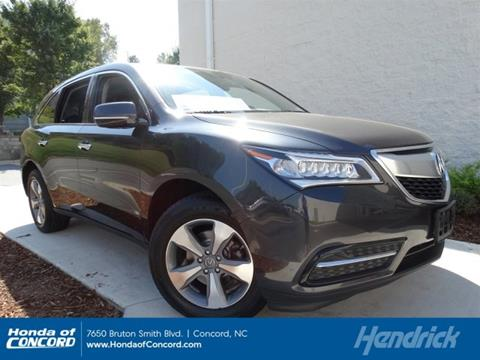 2015 Acura MDX for sale in Concord NC