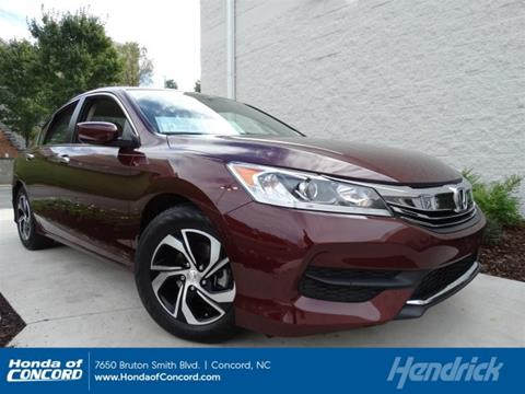 2016 Honda Accord for sale in Concord NC