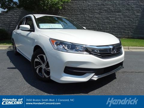 2016 Honda Accord for sale in Concord, NC