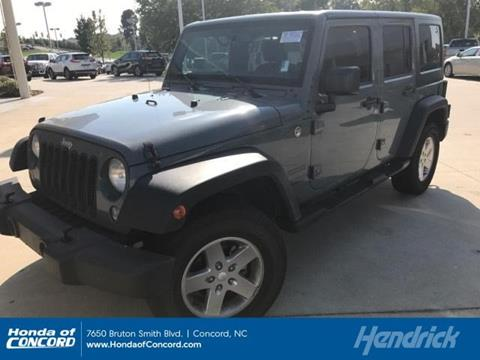 2015 Jeep Wrangler Unlimited for sale in Concord NC