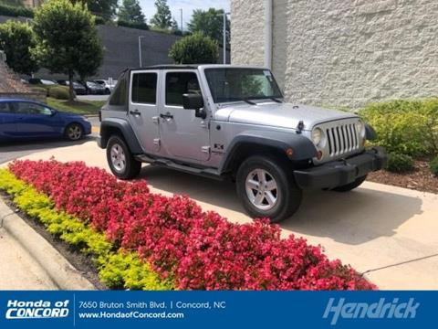 2007 Jeep Wrangler Unlimited for sale in Concord, NC
