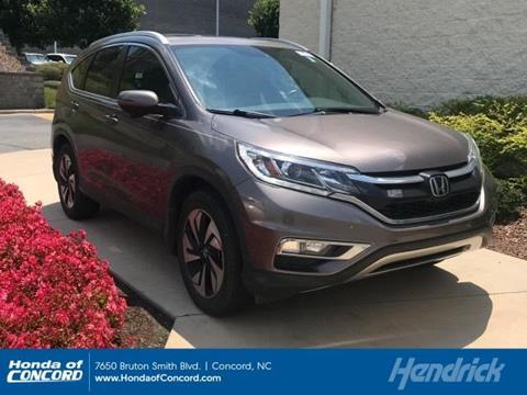 Honda Concord Nc >> 2016 Honda Cr V For Sale In Concord Nc