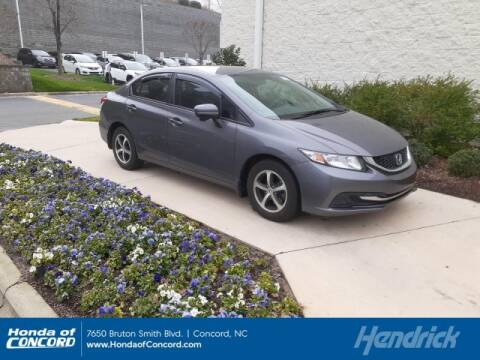 2015 Honda Civic SE for sale at HONDA OF CONCORD in Concord NC