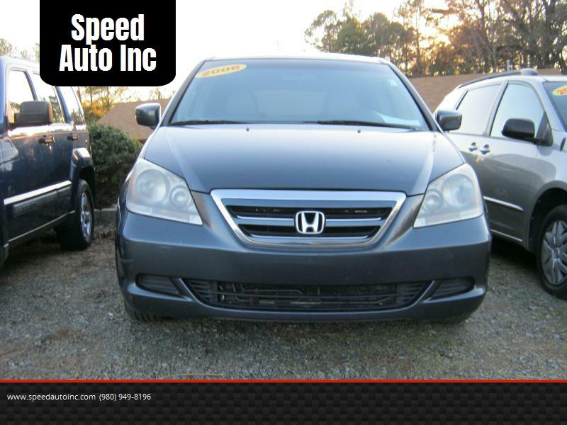 2006 Honda Odyssey EXL   Charlotte NC