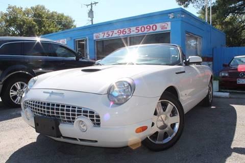 2003 Ford Thunderbird for sale in Norfolk, VA