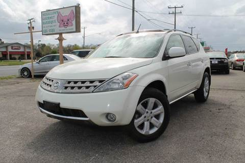 2006 Nissan Murano for sale at Drive Now Auto Sales in Norfolk VA