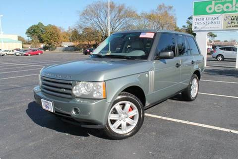 2006 Land Rover Range Rover for sale at Drive Now Auto Sales in Norfolk VA