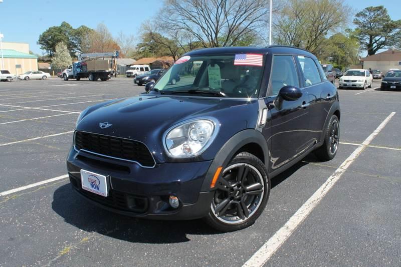 2011 MINI Cooper Countryman for sale at Drive Now Auto Sales in Norfolk VA