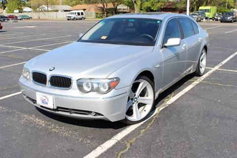 2004 BMW 7 Series for sale at Drive Now Auto Sales in Norfolk VA