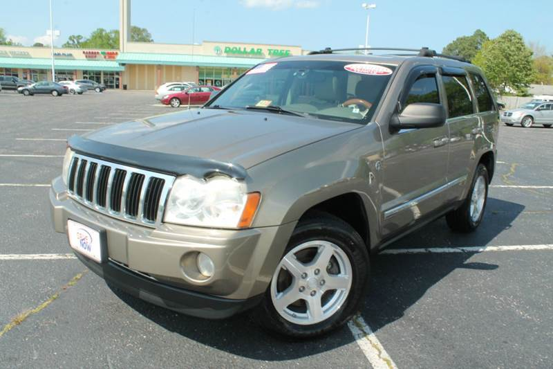 2005 Jeep Grand Cherokee for sale at Drive Now Auto Sales in Norfolk VA
