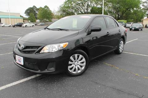 2012 Toyota Corolla for sale at Drive Now Auto Sales in Norfolk VA