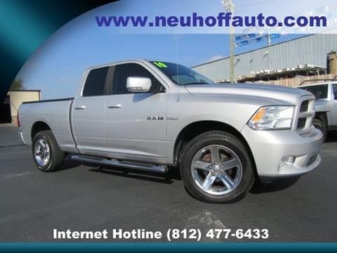 2010 Dodge Ram Pickup 1500 for sale in Evansville, IN