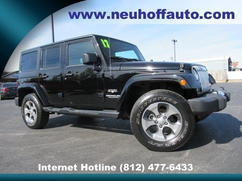 2017 Jeep Wrangler Unlimited for sale in Evansville, IN