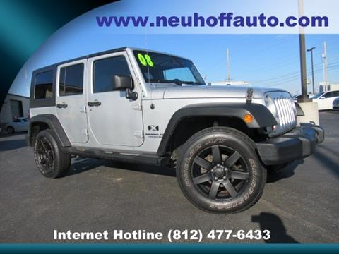 2008 Jeep Wrangler Unlimited for sale in Evansville, IN