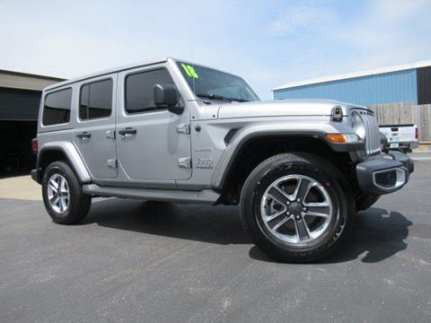 2018 Jeep Wrangler Unlimited for sale in Evansville, IN