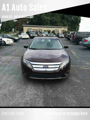 A1 Auto Sales >> 2012 Ford Fusion S 4dr Sedan In Chambersburg Pa A1 Auto Sales