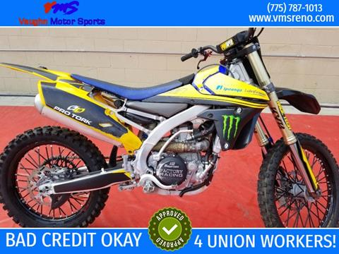 2015 Yamaha YZ450F for sale in Reno, NV