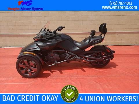 2016 Can-Am SPYDER for sale in Reno, NV