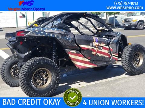 2017 Can-Am Maverick X3 X DS Turbo R for sale in Reno, NV