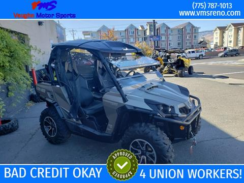 2016 Can-Am Commander for sale in Reno, NV