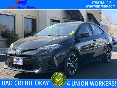 2017 Toyota Corolla for sale at VAUGHN MOTOR SPORTS in Reno NV