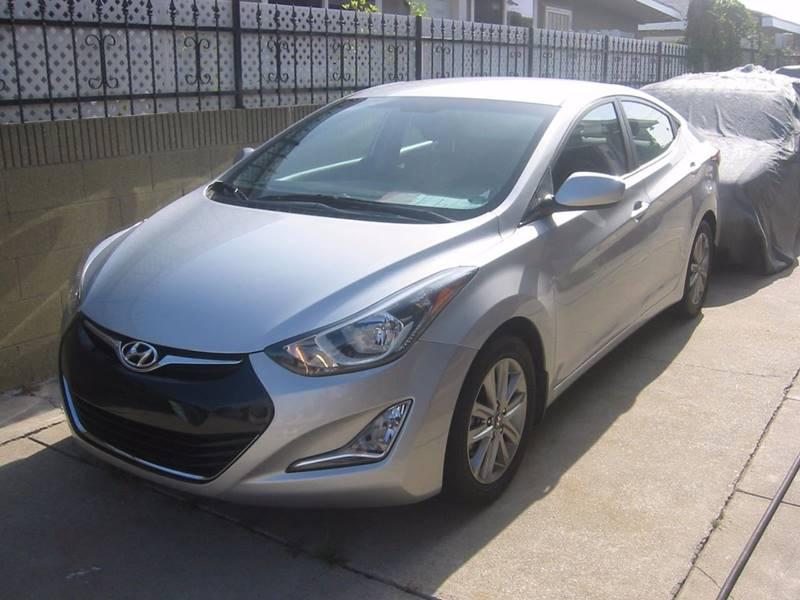 2015 Hyundai Elantra for sale at Gus Auto Sales & Service in Gardena CA