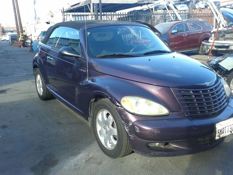 2005 Chrysler PT Cruiser 2dr Touring Turbo Convertible - Gardena CA