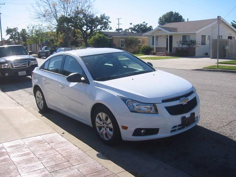 2014 Chevrolet Cruze for sale at Gus Auto Sales & Service in Gardena CA