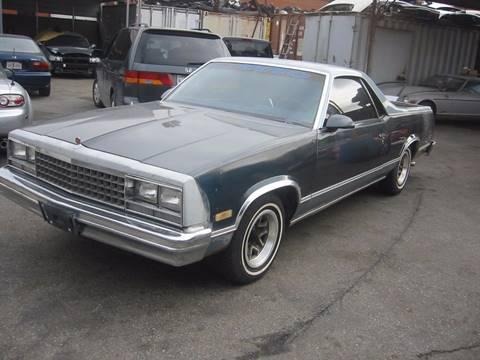 1986 GMC Caballero for sale in Gardena, CA