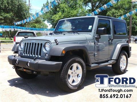 2014 Jeep Wrangler for sale in Ville Platte LA