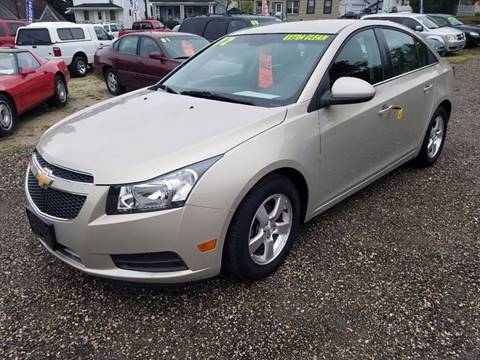 2012 Chevrolet Cruze for sale in Plymouth, WI