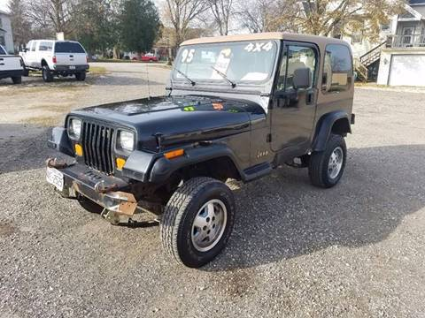 Used 1995 Jeep Wrangler For Sale in Wisconsin - Carsforsale.com