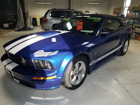 2009 Ford Mustang for sale at JDL Automotive and Detailing in Plymouth WI