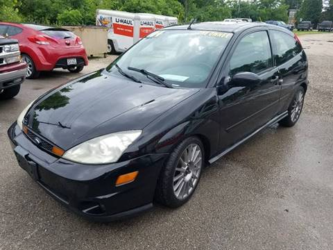 2004 Ford Focus SVT for sale at JDL Automotive and Detailing in Plymouth WI