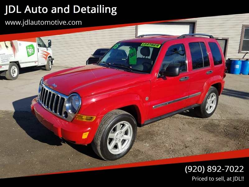 2005 jeep liberty limited mpg