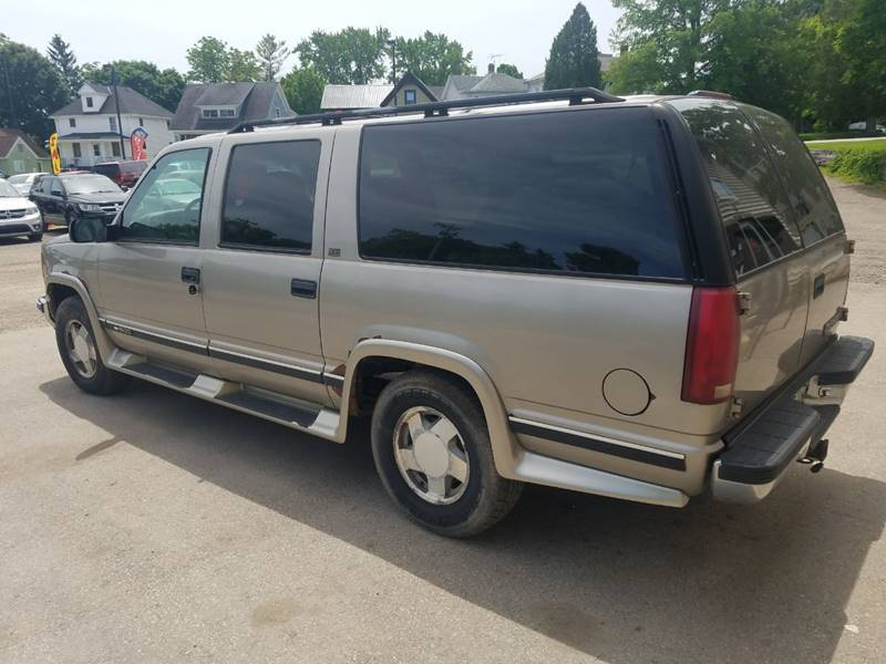 1999 Chevrolet Suburban 4dr K1500 LT 4WD SUV In Plymouth WI - JDL