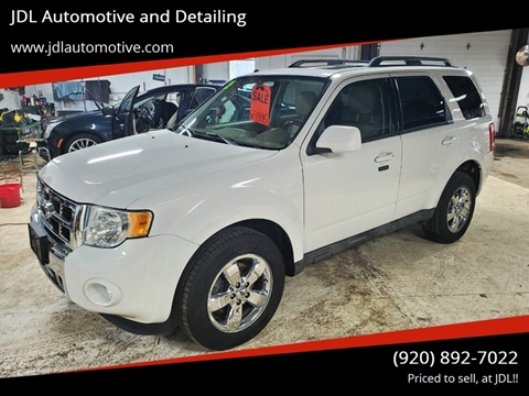2009 Ford Escape Limited for sale at JDL Automotive and Detailing in Plymouth WI