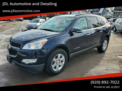 2009 Chevrolet Traverse LT for sale at JDL Automotive and Detailing in Plymouth WI